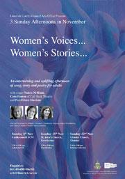 Women's Voices... Women's Stories...